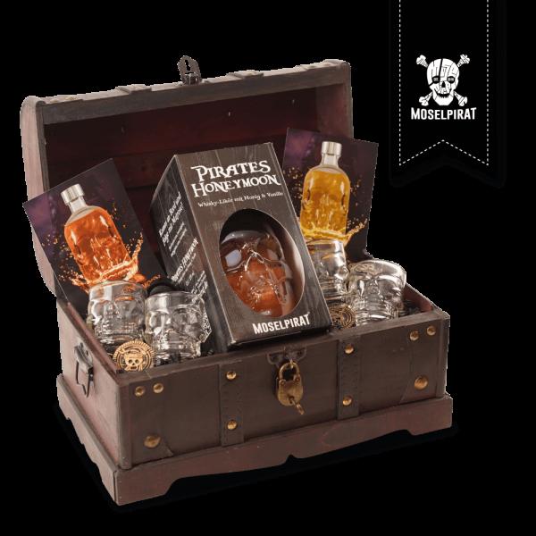 Piraten-Truhe mit: Pirates Honeymoon