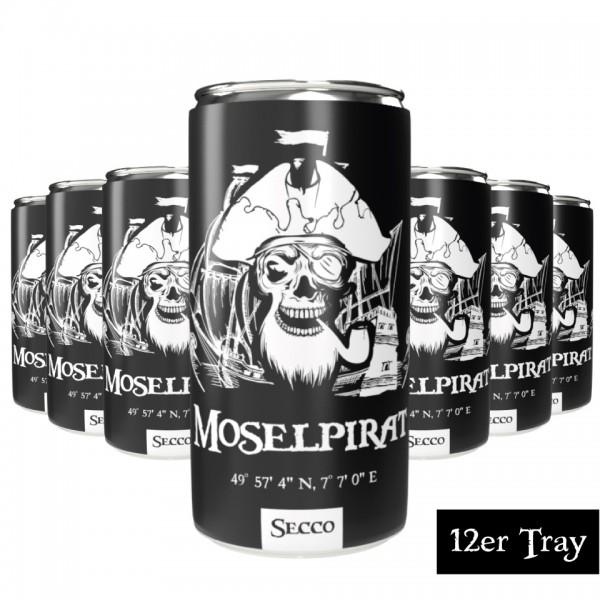 Pirates Secco - Edition: Moselpirat (12er Tray) - pfandfrei