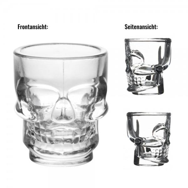"""Piraten-Shotglas """"Totenkopf"""""""